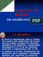 GUIA DE  CLASES DE VENTILACION DE MINAS