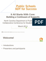 NCDPI RTI and Mulit Tiered Presentation