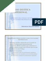 Codigo de Etica Ifac - Resumen