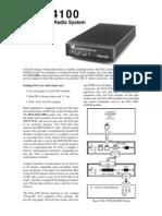 Hall Fax4100 HF FAX-Datamodem Manual