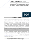 Ação de Indenização do promotor Gilberto Gomes contra Rodrigo Rodrigues