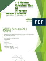 Vektor 3 Mantra Dalam Koordinat Dan Geometri