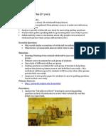 portfolio- witchcraft lesson plan
