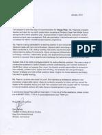 letter of recc garydennis