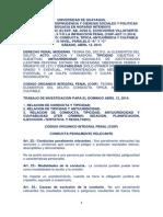 Derecho Penal II Intensivo Taller Conducta, Tipicidad, Antijuridicidad y Culpabilidad