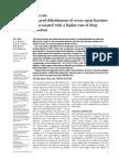 Delayed Debridement in Open Fractures