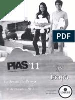 PIAS - 3ª Etapa (2011)
