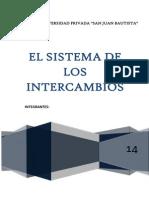 Sistema Intercambio Final