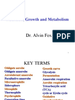 Nutrition, Growth and Metabolism