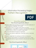 Information Processing Stages