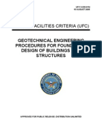 Geotechnical Engineering Procedures for Foundation Design of Buildings and Structures