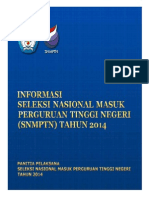 Info SNMPTN 2014