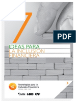 7 Ideas Para Inlusion Financiera