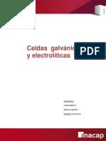 Celdas Galvanicas y Electroliticas