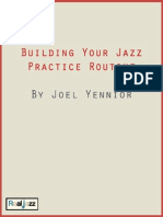 Building Your Practice Routine