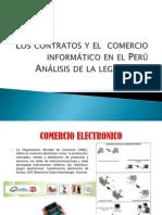 Los Contratos y El Comercio Informático en El Perú Análisis de La Legislación