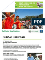 Exhibitor Application Form June 2014 GHF
