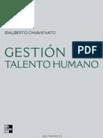 Gestion Del Talento Humano Chiavenato 3Th