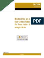 3.-Marketing Online Para El Sector ContractyHabitat