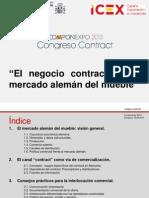 4.-El Negocio Contract en El Mercado Aleman Del Mueble
