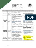 Cronograma de Sesiones SOC ORG 2014-1 Vfinal