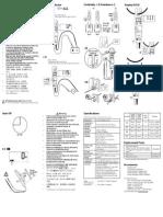 Fluke T5-600 / T5-1000 Electrical Tester Instruction Card