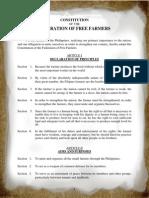 FFF Constitution