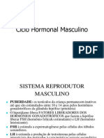 Ciclo Hormonal Masculino e Feminino