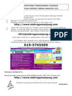 Panduan Aplikasi Pendaftaran Olahraga