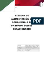 Sistema de Alimentacion de Motores Diesel Estacionario