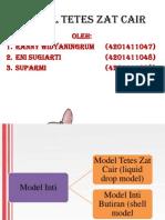 Model Tetes Zat Cair Ppt