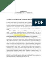 Periodizacion de La Violencia en Peru