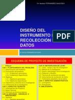 Diseñoo de Instrumentos de Recolección de Datos