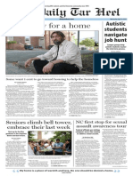 The Daily Tar Heel for April 23, 2014