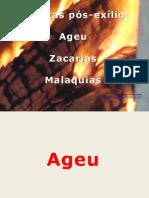 Ageu Zacarias e Malaquias