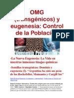 Eugenesis y Transgenicos