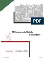 Estatuto Da Cidade. Comentarios. Cities Alliance. MdasC. 2010