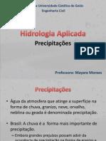 Aula 07 - Precipitações