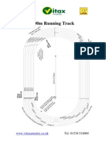 200m Running Track