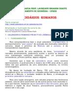 Calendários Romanos