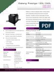 Eisberg Prestige Product Sheet