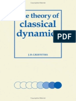 The Theory of Classical Dynamics, Griffiths.pdf