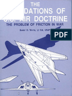 The Foundations of US Air Doctrine the Problem of Friction in War