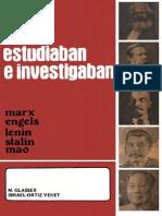 Marx Engels Lenin Stalin Mao 1