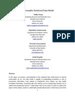 Neutrosophic Relational Data Model