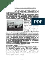 Historia de La Plaza de Toros