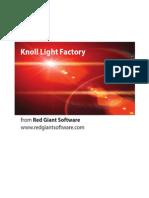 Knoll Light Factory Manual