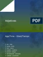 Adjetives