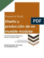 Diseño y producción de un mueble modular