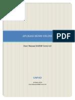 Petunjuk Penggunaan Aplikasi KKNM Online 2